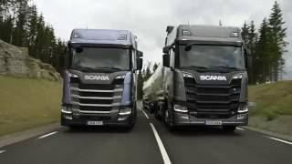 Nueva gama de Camiones Scania