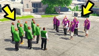GTA 5 - What if you Take Rival Groups to Grove Street?