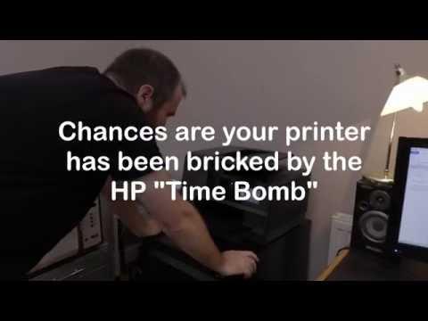 How to Fix a HP printer cartridge problem error older generation missing damaged cartridges timebomb