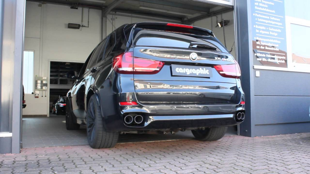 Performance Active Sound For Bmw X5 M50d F15 By Cargraphic