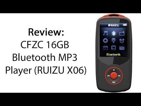 Review: CFZC 16GB Bluetooth MP3 Player (RUIZU X06)