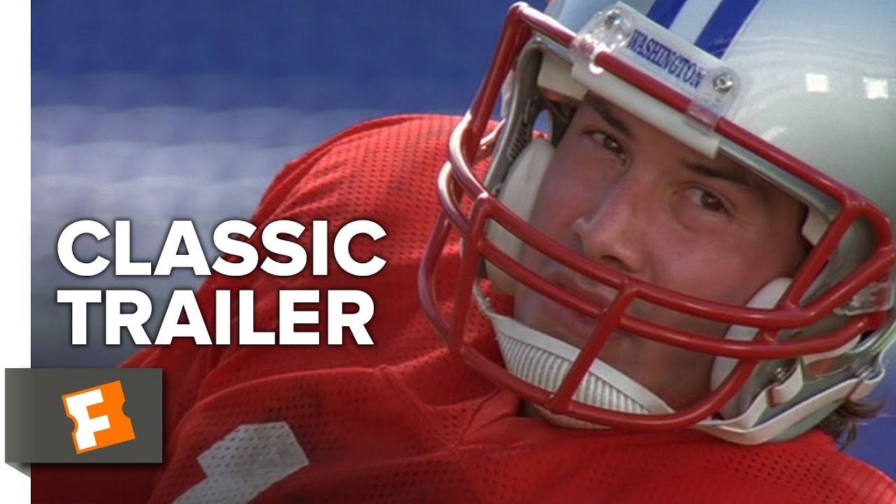 The Replacements (2000) Official Trailer - Keanu Reeves, Gene Hackman  Sports Comedy HD