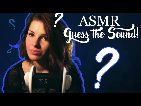 ASMR play with me! Guess the sound