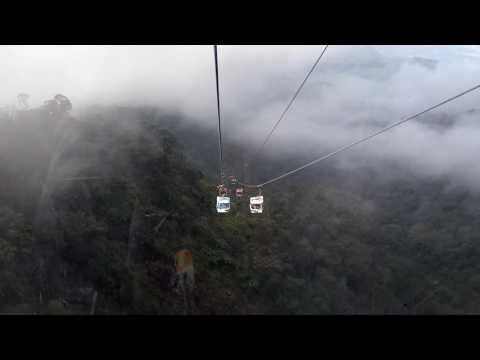 Crazy Cable car, Genting highland,  Malaysia.