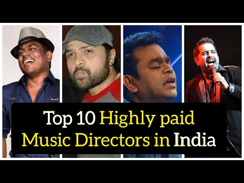 Top 10 Highly paid music directors in India 2020