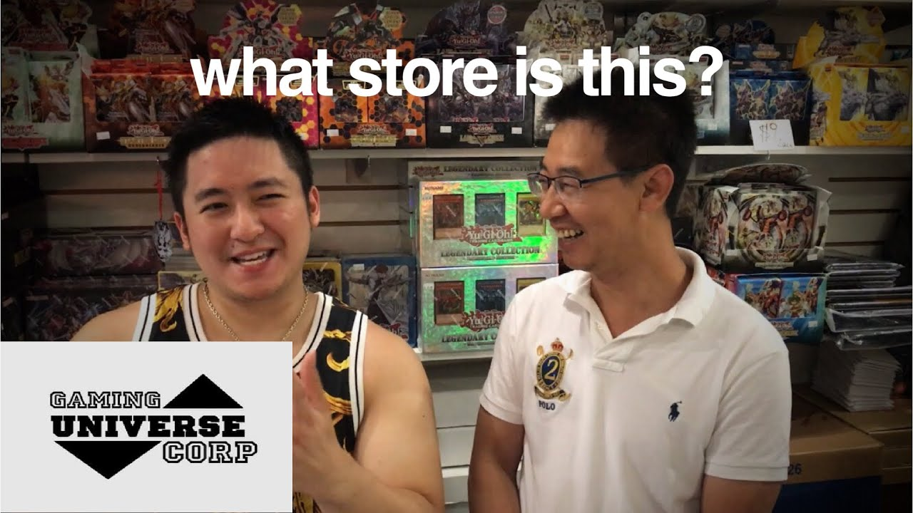 What Store Is This Gaming Universe Corp Locals Store Yugioh Experience Episode 3 Youtube