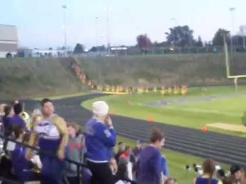 Denison High School Monarch Marching Band!  Straight from Denison, Iowa!!