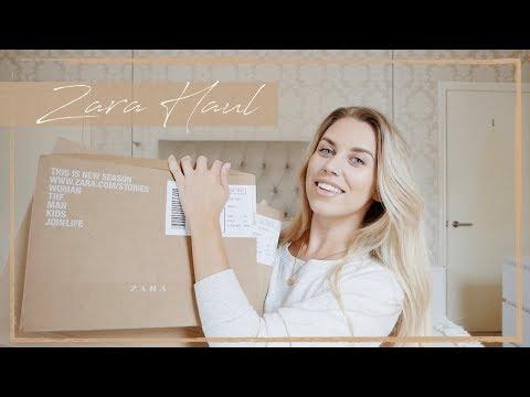 HUGE AUTUMN ZARA TRY ON HAUL | Freya Farrington