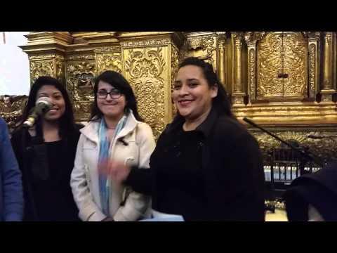 Angie Durrell 4 pruebas de sonido para tocar frente a Papa Francisco