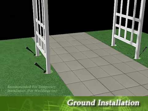 Athens Garden Arbor Assembly Instructional Video