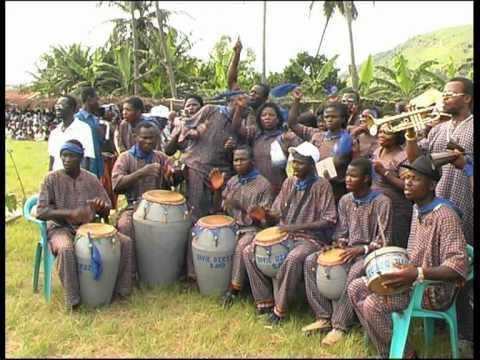 Sasadu Festival 2004 with the German Ambassador to Ghana, his Excellency Peter Linder