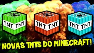 NOVAS TNTs  DO MINECRAFT 1.10.2 !