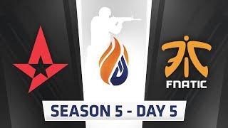 ECS Season 5 Day 5 - Astralis vs Fnatic