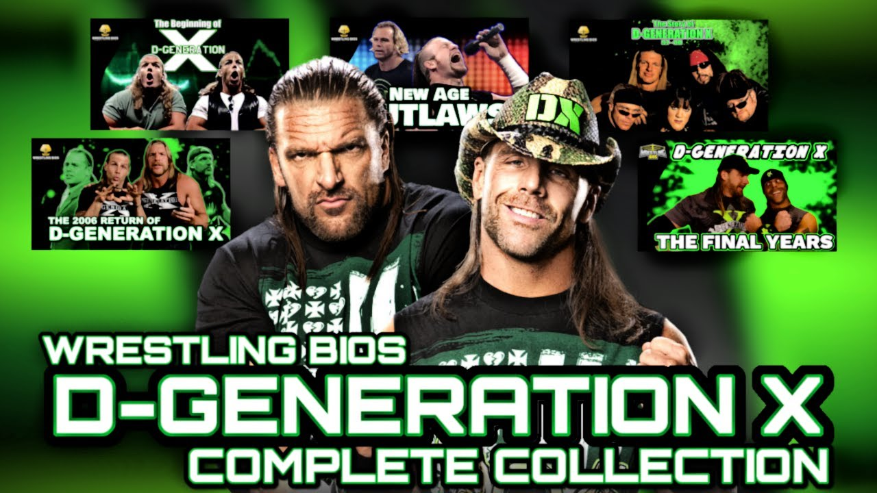 The D-Generation X Complete Collection