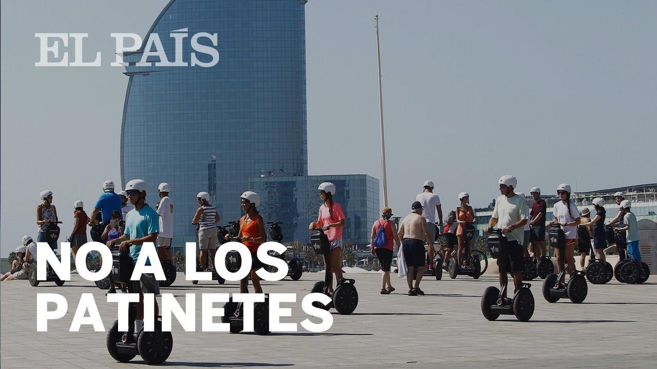63fa2836c69e Colau prohíbe los patinetes eléctricos en el centro de Barcelona | Catalunya