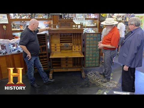Pawn Stars: 19th Century Wooton Desk (Season 15) | History