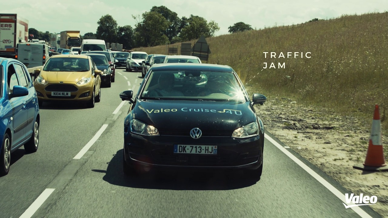Automated driving challenges with Valeo Cruise4U