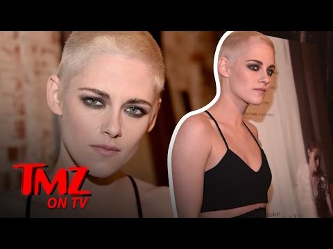 Kristen Stewart Gets Buzzed | TMZ TV