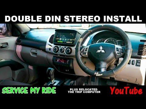 DOUBLE DIN STEREO INSTALL WITH ANDROID AUTO sony xav-ax100