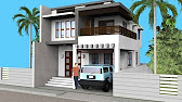 modern house exterior wall painting home design ideas 2017 - YouTube