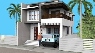 Small Modern 2 Level House with Interior Walkthrough thumbnail