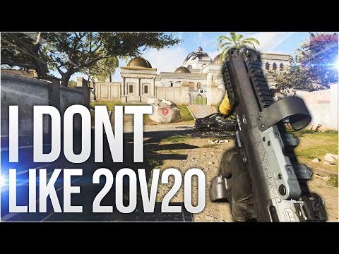 I don't like 20v20 in Call of Duty: Modern Warfare (Multiplayer Gameplay PC)