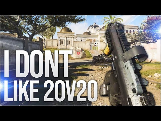 I dont like 20v20 in Call of Duty: Modern Warfare (Multiplayer Gameplay PC)