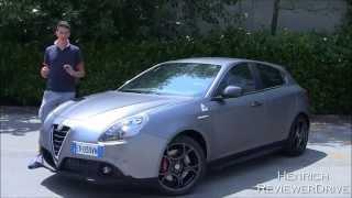Test drive Alfa Romeo Giulietta Quadrifoglio Verde my 2014 - Prova su strada Giulietta QV restyling