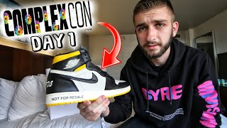 COMPLEXCON DAY ONE $1,100 EXCLUSIVE JORDANS SNEAKERS for FREE!