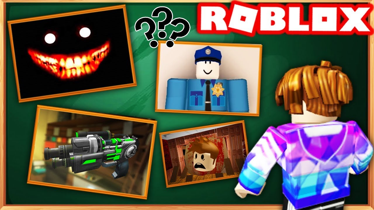 Roblox Real Murder Mystery 2 Roblox Horror Game Youtube