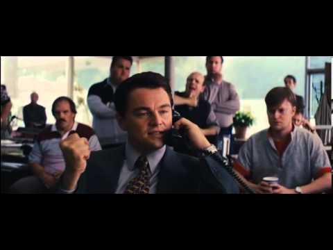 The Wolf of Wall Street 2013 selling thru phone scene