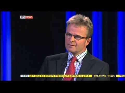 HMV Record Store Collapse (Sky News' Jeff Randall Live) - Part 1 of 2