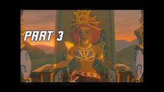 The Legend of Zelda Breath of the Wild Champions' Ballad Walkthrough Part 3 - Urbosa's Song