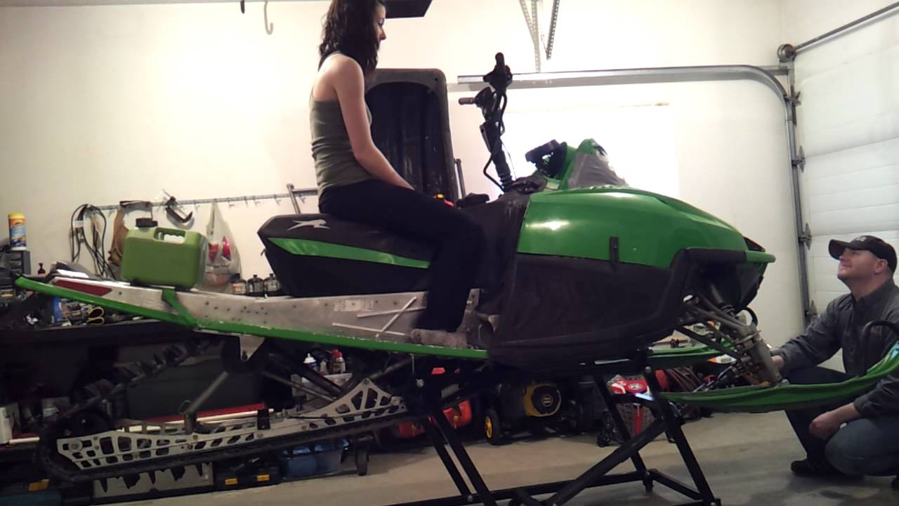 Snowmobile Lift Youtube