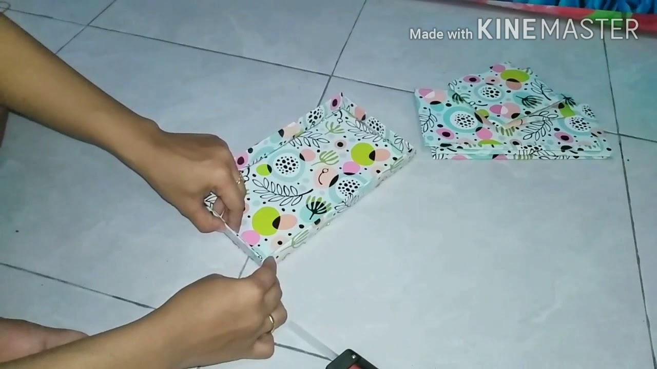 Cara Membuat Kotak Tissue Dari Kardus Bekas - YouTube