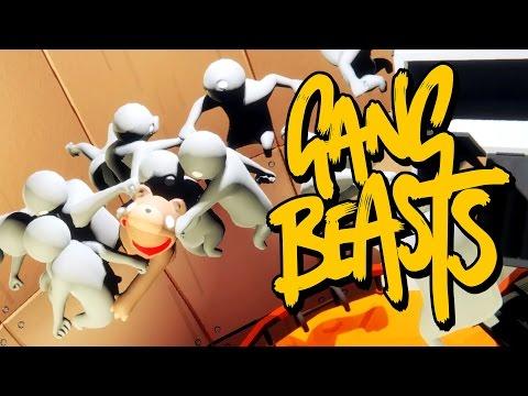 FLYING TEDDY BEAR!! - Gang Beasts #8