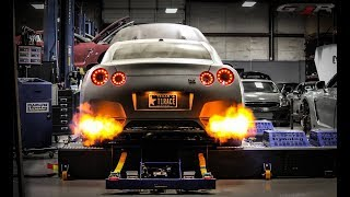 ULTIMATE GTR R35 Exhaust 2 Step Antilag Start-Up & Rev Compilation ✔