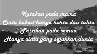 Dewa 19 - Cukup Siti Nurbaya + lirik (Bahasa Indonesia)