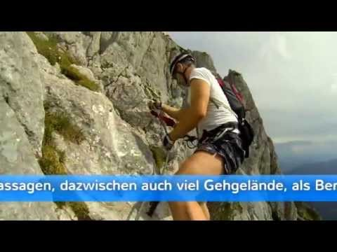 Klettersteig Donnerkogel : Intersport klettersteig donnerkogel m gosau oÖ youtube