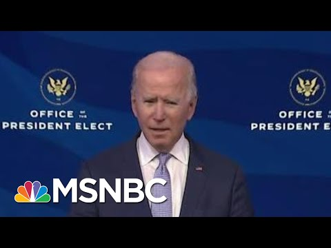 Biden Calls On Trump To Call Off Capitol Mob: 'It's Not Protest, It's Insurrection'   MSNBC