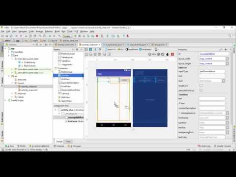 Creación de chat en Android Studio