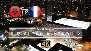 "Gambar cover Albania 🇦🇱 - 🇫🇷 France inaugurates the ""Air Albania Stadium"" - 4K"