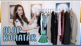 Alap ruhatár - Ez nem hiányozhat a gardróbodból | Viszkok Fruzsi