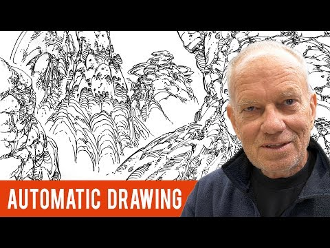 "Meditation for Artists: Learn Moebius' Meditative Technique Called ""Automatic Drawing"""