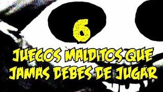 TOP 6: 6 Videojuegos Malditos Que Jamas Debes De Jugar