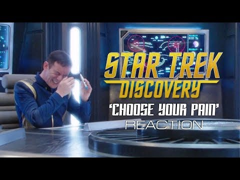 Thumbnail: Star Trek Discovery - 'Choose Your Pain' Reaction