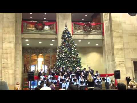 hbc chase bank lobby downtown houston - Chase Bank Open Christmas Eve