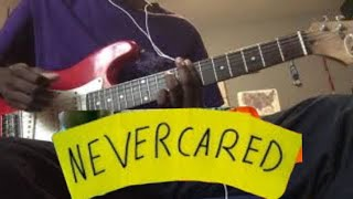 boy pablo & Jimi Somewhere - Never Cared (Guitar Cover)