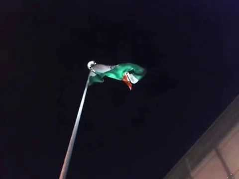 INDIAN FLAG OF CROSSINGS REPUBLIK