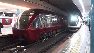 近鉄21020系21121編成回送発車